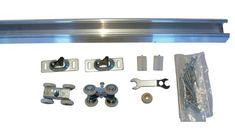 Series 1 HBP- Heavy Duty Pocket Door Track and Hardware - Wheel Ball Bearing Hanger