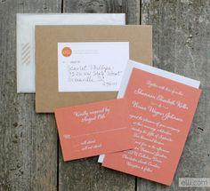 3 free wedding invitation samples from elli.com