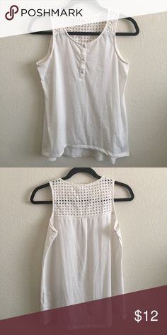 Cream blouse! Cream blouse with cute design in chest area! Tops Blouses