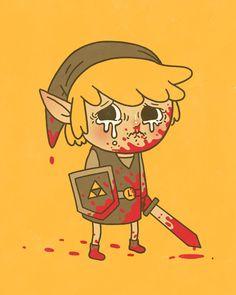 #videogame #blood #zelda