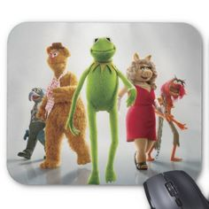 Muppets Walking Poster mousepads