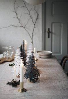 3D paper Christmas decorations from Fabulous Goose | These Four Walls blog