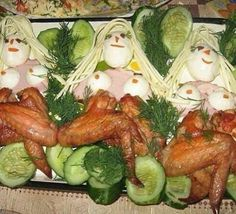 The Chicken Drummettes. Naked dancing ladies made out of chicken wings. Gross Food, Weird Food, Scary Food, Retro Recipes, Vintage Recipes, Food Fails, Cake Wrecks, Snacks Für Party, Party Appetizers