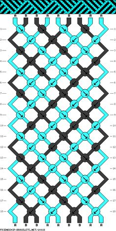 9 strings 18 rows 2 colors