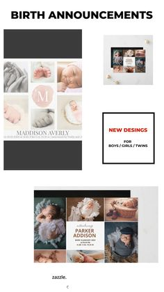 Baby Girl Birth Announcement, Birth Announcement Photos, Baby Girl Photos, Baby Girl Newborn, Boy Or Girl, Twins, Cards, New Born Girl, Baby Girl Pictures