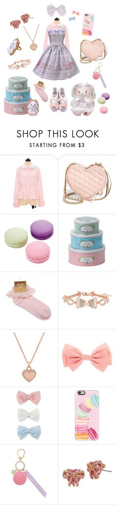 """Baking Cookies With Usakumya-chan"" by lonlapi ❤ liked on Polyvore featuring Rebecca Minkoff, Ladurée, Royal Albert, Barzel, Michael Kors, Decree, Casetify and Betsey Johnson"