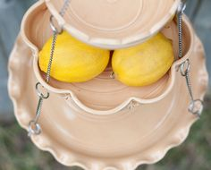 Hanging Fruit Basket  Set of 3 with UnMatchy by vesselsandwares, $84.00