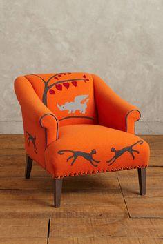 Kit Kemp Folkthread Fauntastique Armchair