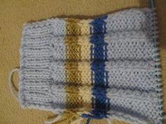 Návod na ponožky ,štrikované na dvoch ihliciach. / pletana » SAShE.sk - slovenský handmade dizajn