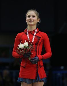 Julia Lipnitskaia 2013 Skate Canada Love this outfit! and her courage and talent!