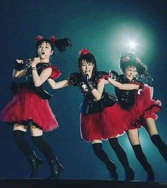 Babymetal: So happy together. Doki Doki Morning, Happy Together, Kawaii Fashion, Women's Fashion, Heavy Metal Bands, Alternative Music, Girl Bands, These Girls, Hard Rock