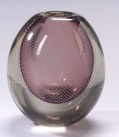 Gunnel Nyman Paperweight vase for Nuutajarvi