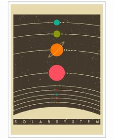Solar System of Jazzberry Blue now on JUNIQE!