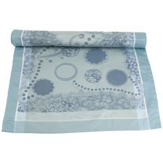 I pinned this High Tea Table Runner in Gris from the Garnier-Thiebaut event at Joss and Main!