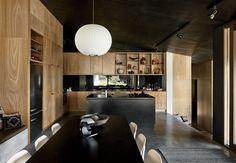 A material-rich kitchen.
