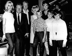 Elvis Presley and his family including his father Vernon Presley