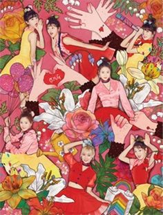 """OH MY GIRL 4th Mini Album """"COLORING BOOK"""" CD+Photobook+Photocard+Paper+Poster #Pop"""