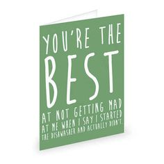 For household duties: | 17 Brutally Honest Greeting Cards Every Married Couple Needs