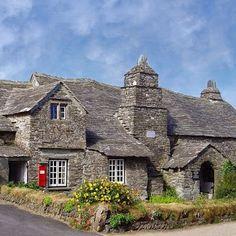 14th century Tintagel post office/Cornwall