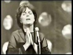 """Amália Rodrigues  ao vivo    """" CANÇÃO DO MAR """"  TV Roménia 1969"""