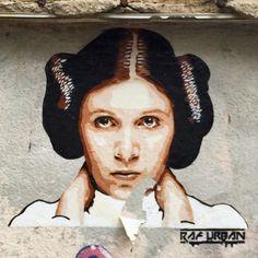 by RAF Urban in Paris (LP) Stencil Art, Urban Art, Cool Art, Graffiti, Lily, Paris France, Murals, Artist, Advertising