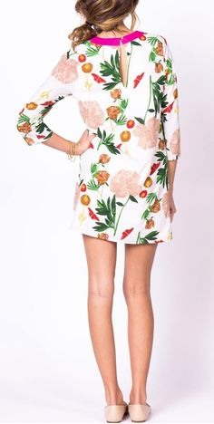 Love this floral print... getting this for my cruise