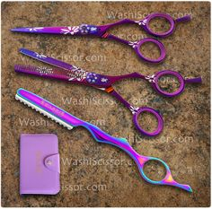Purple Lilac Set with 5.0 shears...Just my size!