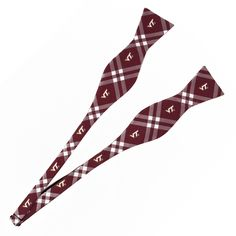 Virginia Tech Hokies Self Tie Rhodes Bow Tie - Eagles Wings