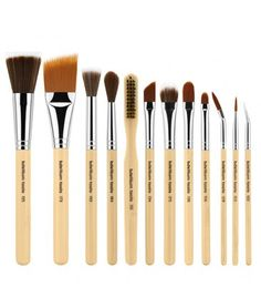 Bdellium Tools - SFX 12 - 12 Piece Special Effects Brush Set w/ Double Pouch