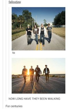 Fall Out Boy.