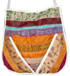 recycling purses bags   ... Silk Sari Recycled Shoulder Bags Purses Lot - Handbags & Purses