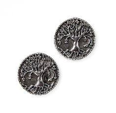 nice Sacred Tree  Cufflinks - Gifts for Men - Anniversary Gift - Handmade - Gift Box Included