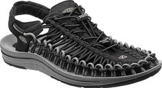 The men's UNEEK sandal by KEEN uses an innovative two-cord construction that molds to your feet.