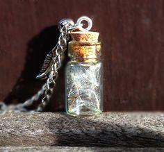 Mini-Pusteblume-Flasche: Inspiration