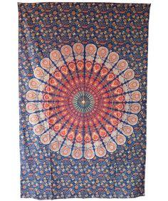 mandala tapestry Indian boho tribal wall hanging from handicrunch by DaWanda.com