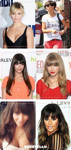 Our Fav Celebrity Hair Fringes
