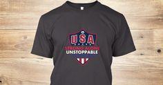 Strong Alone Unstoppable Together Tshirt. ONLY $25 - ends soon in a few days, so GET YOURS NOW before it's gone! #USA #CopaAmerica #Supporter