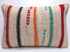 Vintage Kilim Pillow from Shoppe by Amber Interiors Kilim Pillows, Throw Pillows, Amber Interiors, Textiles, Fabric Art, Home Decor Accessories, Agoura Hills, Vintage, Pillow Talk
