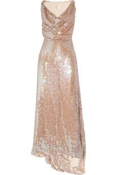 Vivienne Westwood Gold Label | Long Savannah sequined net gown | NET-A-PORTER.COM - StyleSays