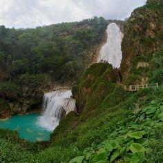 Cascada el Chiflón Chiapas México