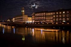 Luminaria of San Ranieri. Each year on June 16, the city of Pisa lights thousands of candles on the bridges, streets, and windows along the Arno River for their patron saint, San Ranieri.