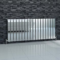 iBathUK-600-x-1380-mm-Chrome-Column-Designer-Radiator-Horizontal-Single-Flat-Panel-0