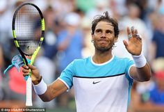 Nadal was staring defeat in the face but saved a match point against Zverev at Indian Wells