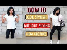 How to Look Stylish without Buying New Clothes --or without shopping in today's video. I show you how to look stylish without buying new clothes but intact look stylish with simple clothes. What to wear when you have nothing to wear is something we all feel and these 7 clothing style hacks 2018 will help as a basic style hacks for girls.  Instagram: @adityiyerr