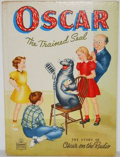 Oscar The Trained Seal The Story of Oscar On The by TooHipChicks