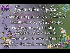 Evening Greetings, Afrikaanse Quotes, Goeie More, Good Morning, Periodic Table, Blessed, Bring It On, Day, Blessings