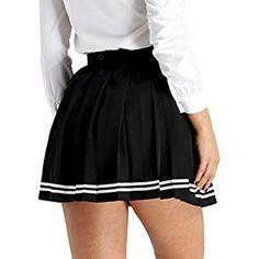 Plaid Pleated Mini Skirt, Pleated Shorts, High Waisted Skirt, Mini Skirts, School Uniform Girls, Girls Uniforms, Skater Dress, Dress Skirt, Tutu