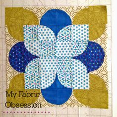 My Fabric Obsession: June Goal Setting Circle Quilt Patterns, Circle Quilts, Mini Quilts, Quilting Projects, Quilting Designs, Sewing Projects, Patch Quilt, Quilt Blocks, Drunkards Path Quilt