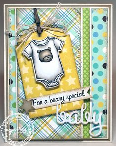 My Little Stampin' Spot: {SPD} Beary Special Baby