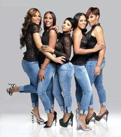 The Braxtons ~ Tamar, Towonda, Toni, Trina & Traci